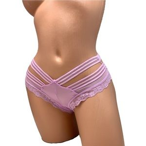 New SMALL Victoria's Secret Cheeky Panty Satin NWT